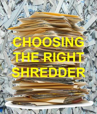 Choosing the right shredder link